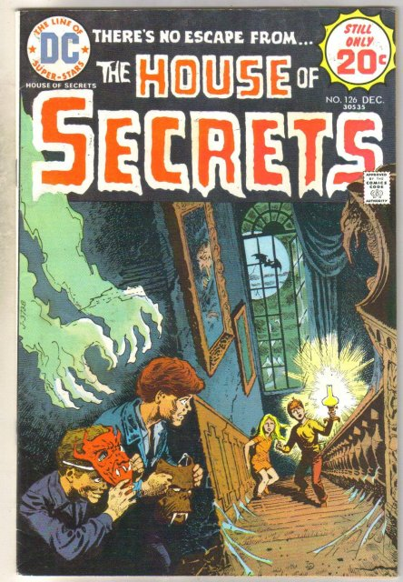 House of Secrets #126 comic book very fine 8.0