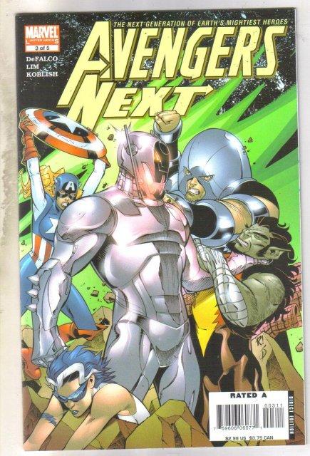 Avengers Next #3 comic book mint 9.8