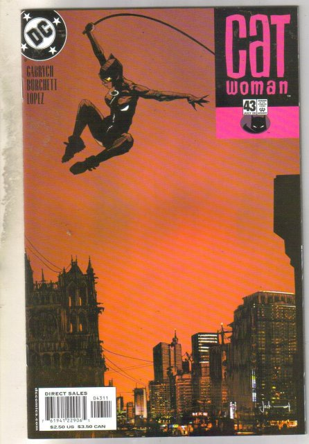Catwoman #43 comic book mint 9.8
