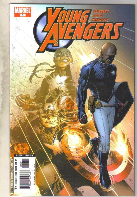 Young Avengers #8 comic book mint 9.8