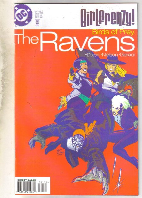 Birds of Prey: The Ravens #1 comic book near mint 9.4