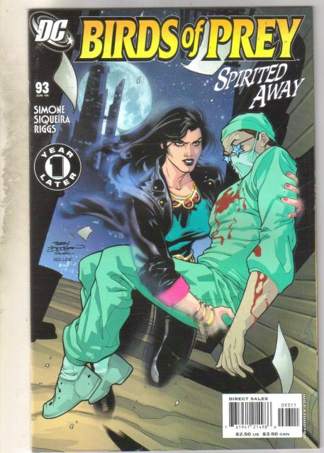 Birds of Prey #93 comic book mint 9.8
