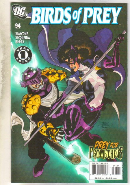 Birds of Prey #94 comic book mint 9.8