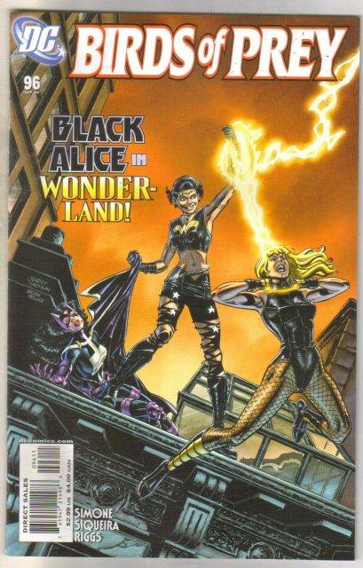 Birds of Prey #96 comic book mint 9.8