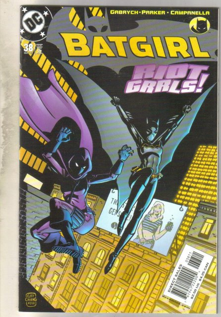 Batgirl #38 comic book mint 9.8