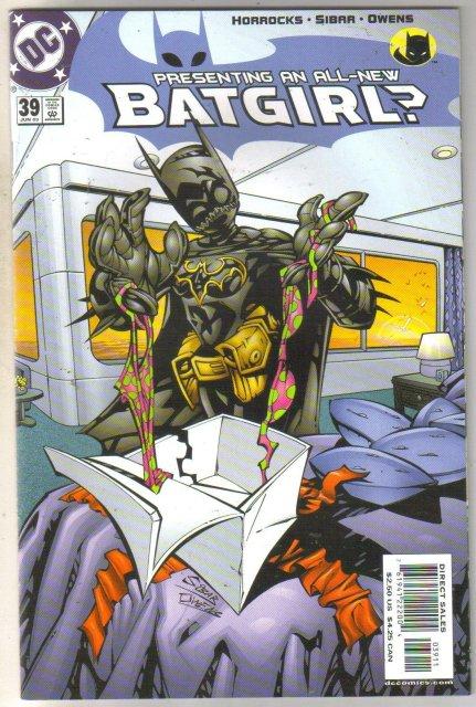 Batgirl #39 comic book mint 9.8