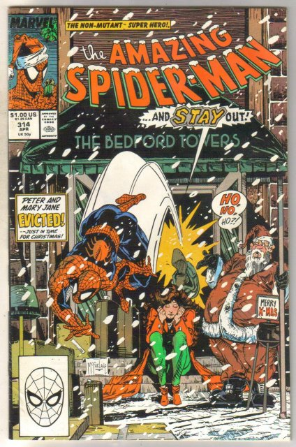 Amazing Spider-man #314 comic book very good 4.0