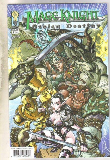 Mage Knight #1 comic book near mint 9.4