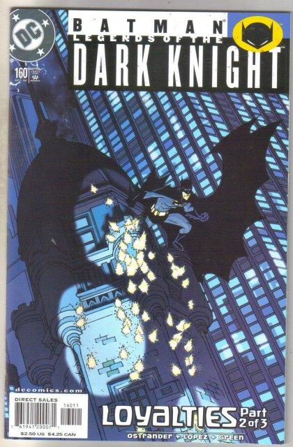 Batman Legends of the Dark Knight #160 comic book mint 9.8