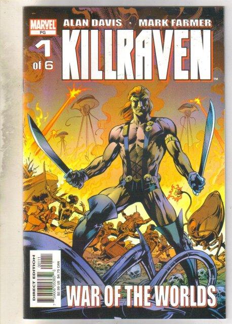 Kilraven #1 comic book mint 9.8