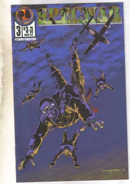 Specwar #3 comic book mint 9.8