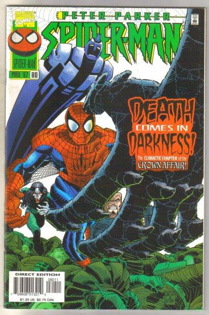 Peter Parker, Spider-man #80 comic book mint 9.8