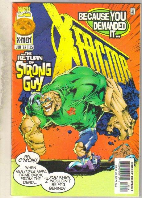 X-Factor #135 comic book mint 9.8