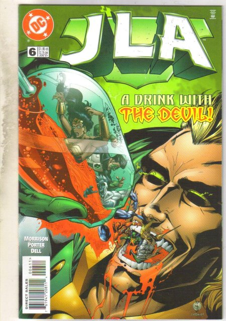 JLA #6 comic book mint 9.8