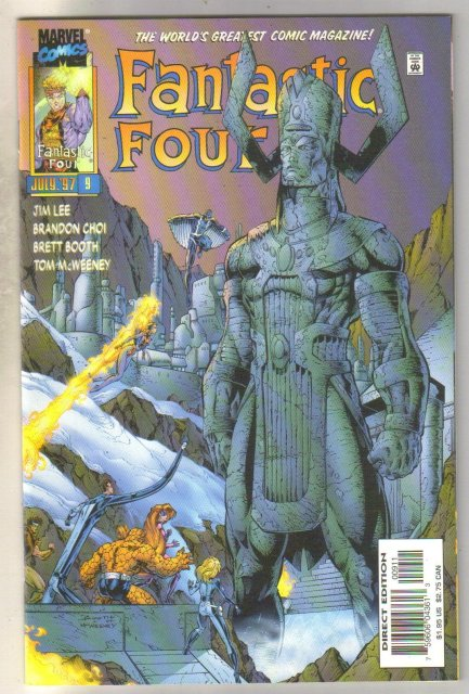 Fantastic Four #9 comic book mint 9.8