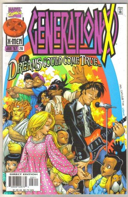 GenerationX #28 comic book mint 9.8