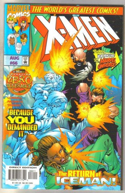 X-Men #66 comic book mint 9.8