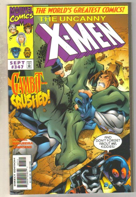 Uncanny X-Men #347 comic book mint 9.8