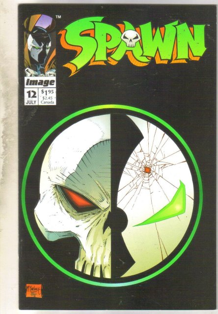 Spawn #12 comic book near mint 9.4