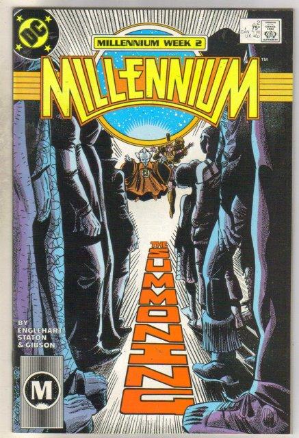 Millenium #2 comic book very fine 8.0