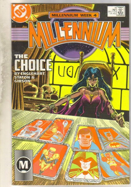 Millenium #4 comic book very fine 8.0
