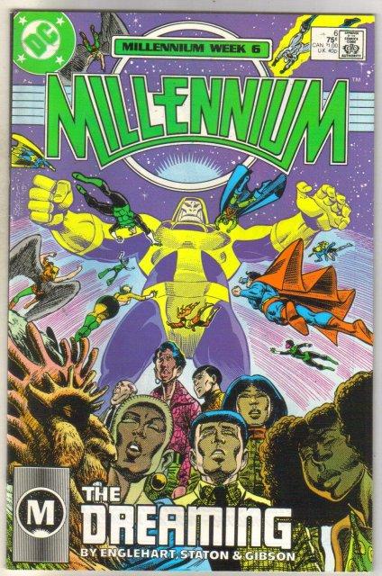 Millenium #6 comic book very fine 8.0