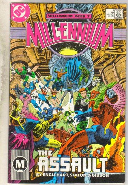 Millenium #7 comic book very fine 8.0
