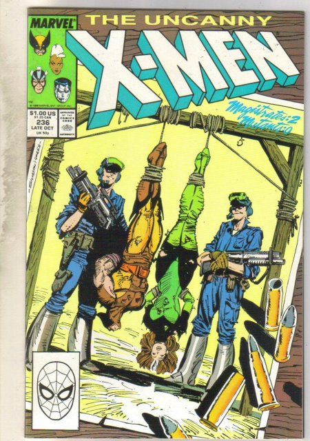 Uncanny X-men #236 comic book near mint 9.4