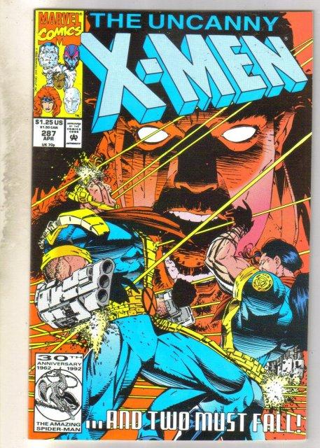 Uncanny X-men #287 near mint/mint 9.8