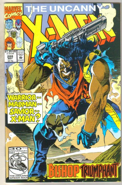 Uncanny X-men #288 comic book gem mint 10.0