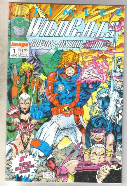 Wildcats #1 comic book mint 9.8