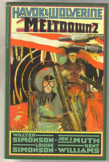 Havok & Wolverine Meltdown #2 comic book near mint 9.4