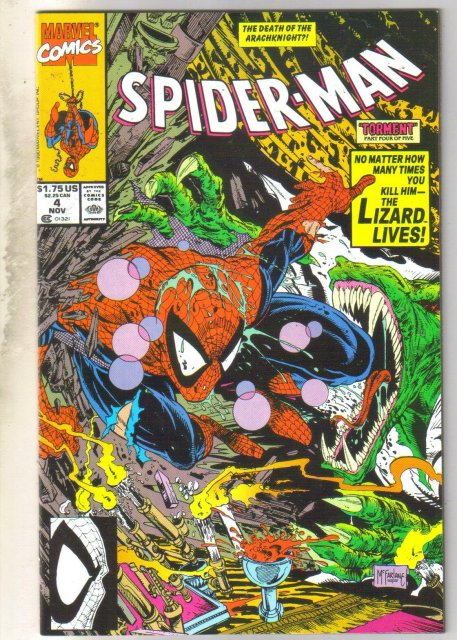 Spider-man #4 comic book near mint 9.4