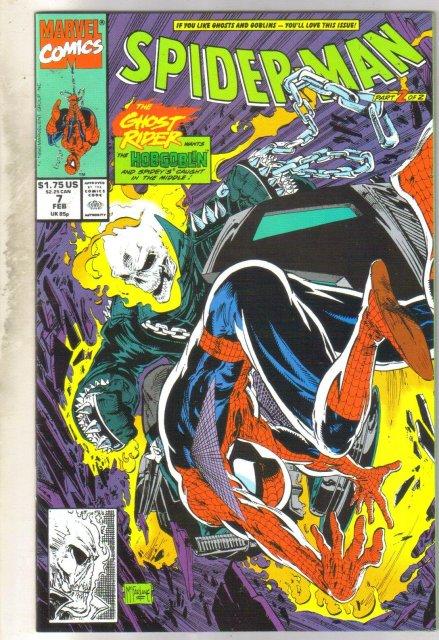 Spider-man #7 comic book near mint 9.4