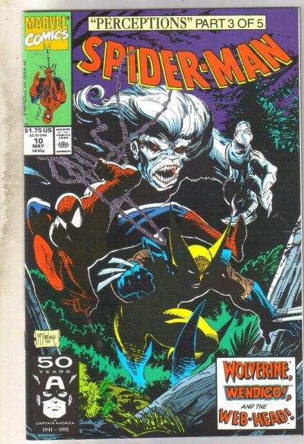 Spider-man #10 comic book near mint 9.4
