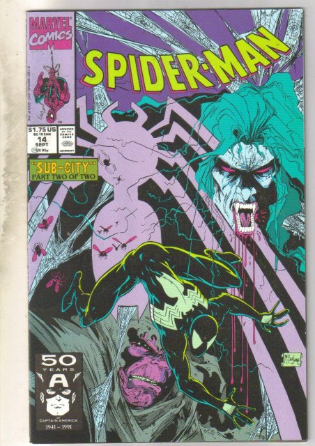 Spider-man #14 comic book near mint 9.4
