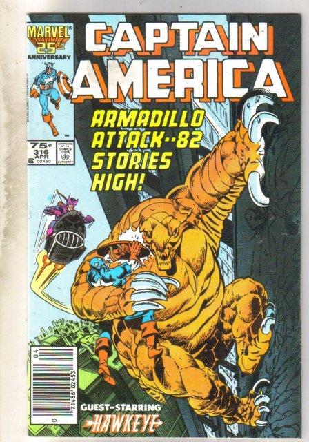 Captain America #316 comic book near mint 9.4