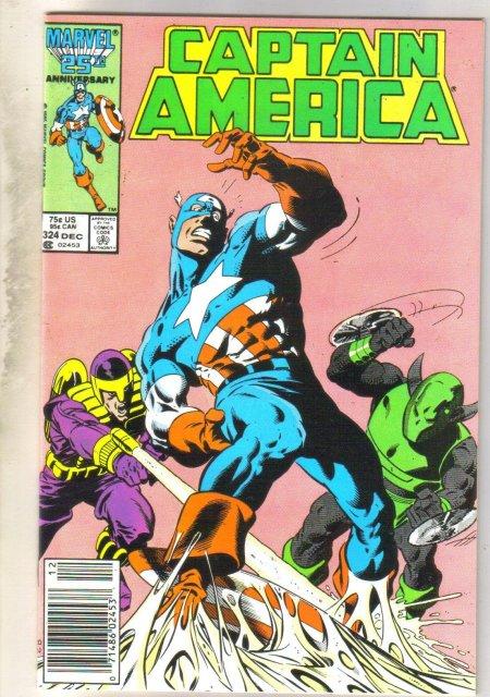 Captain America #324 comic book near mint 9.4