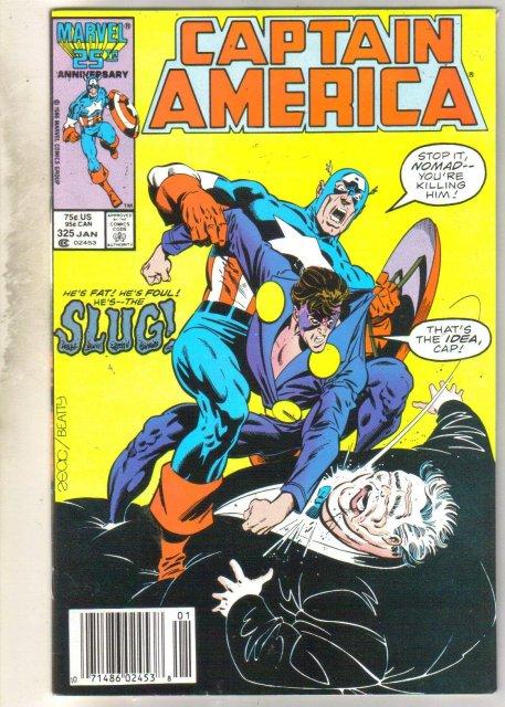 Captain America #325 comic book very fine 8.0