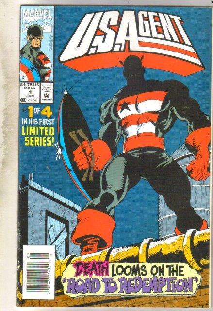 U.S. Agent #1 comic book near mint 9.4