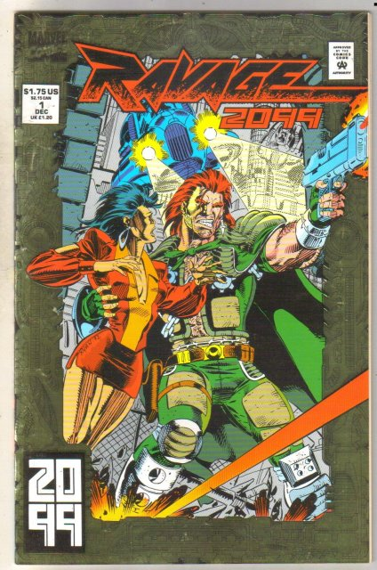 Ravage 2099 #1 comic book mint 9.8