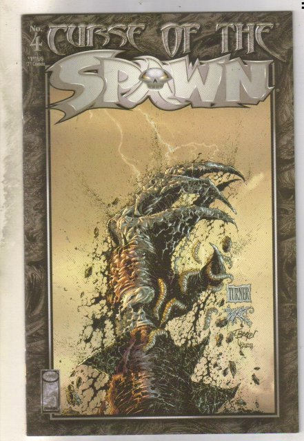 Curse of the Spawn #4 comic book near mint 9.4