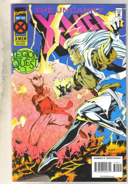 Uncanny X-Men #320 comic book near mint 9.4