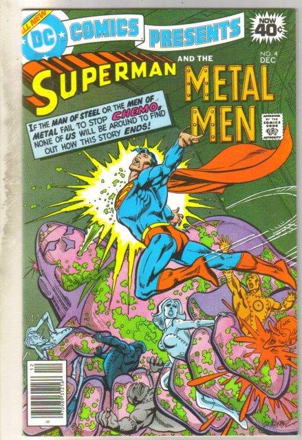 DC Comics Presents #4 (Superman and Metal Men) comic book near mint 9.4