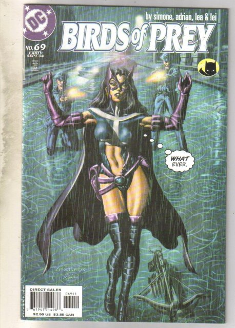Birds of Prey #69 comic book mint 9.8
