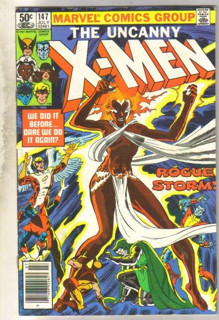 Uncanny X-Men #147 comic book fine 6.0