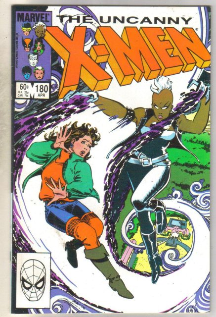 Uncanny X-Men #180 comic book near mint 9.4