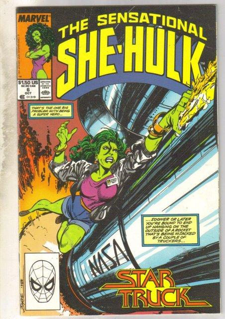 Sensational She-Hulk #6 comic book near mint 9.4