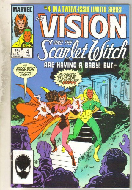 Vision of the Scarlet Witch #4 comic book very good 4.0