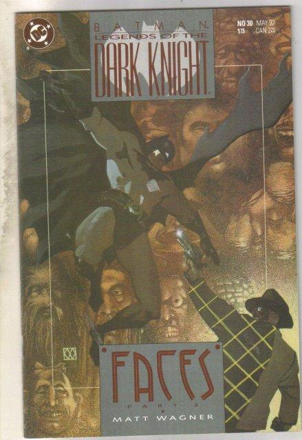 Batman Legends of the Dark Knight #30 comic book near mint 9.4